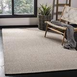 Safavieh Wilton Collection WIL104A Hand-Hooked Wool Area Rug, 8' x 10', Grey / Ivory