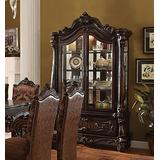 ACME Versailles Cherry Oak Curio Cabinet