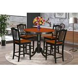 5 Pc counter height Dining room set - counter height Table and 4 Kitchen Chairs.