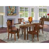 5 Pc Kitchen dinette set-breakfast nook and 4 Chairs for Dining room
