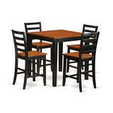 5 PC counter height pub set - counter height Table and 4 Kitchen Dining Chairs.