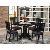 5 PC Kitchen nook Dining set- Table and 4 Dining Chairs