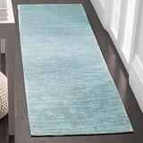 """Safavieh Marbella Collection MRB631K Handmade Abstract Chenille Accent Rug, 2'3"""" x 4', Blue / Turquoise"""