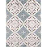 """Momeni Rugs Brooklyn Heights Collection Area Rug, 5'3"""" x 7'6"""", Ivory"""