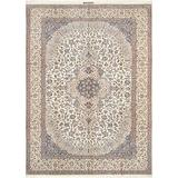 """Pasargad Carpets Persian Nain Collection Hand Knotted Silk & Wool Area Rug, 8' 6"""" x 12' 0"""""""