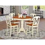 5 PC counter height pub set - Table and 4 counter height stool.
