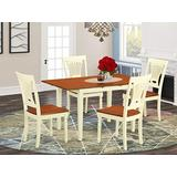 5 Pc Kitchen dinette set - Dinette Table and 4 dinette Chairs