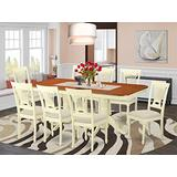 9 Pc dinette set for 8- Kitchen dinette Table and 8 Dining Chairs