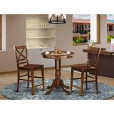 3 PC counter height Dining room set-pub Table and 2 counter height Dining chair