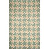 """Momeni Rugs Delhi Collection 100% Wool Hand Carved & Hand Tufted Contemporary Area Rug, 8'0"""" x 10'0"""", Light Blue"""