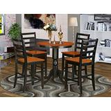 5 PC counter height Dining set-pub Table and 4 dinette Chairs.