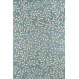 """Momeni Rugs Summit Collection, Hand Knotted Transitional Area Rug, 5' x 7'6"""", Green"""