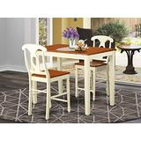 3 PC Dining counter height set - Dining Table and 2 counter height Chairs.
