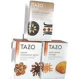 Tazo Herbal And Chai Flavored Teas In 3 Flavors, Sweet Cinnamon Spice, Wild Sweet Orange, And Chai Vanilla Caramel, ...20 Bags Per Box
