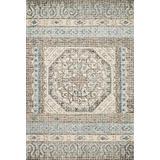 """Loloi Rugs, Tatum Collection - Stone / Blue Area Rug, 5' x 7'6"""""""