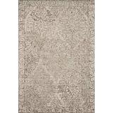 "Loloi Rugs, Tatum Collection - Pewter / Stone Area Rug, 5' x 7'6"""
