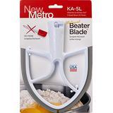 New Metro Design KA-5L Original BeaterBlade for KitchenAid 5-Quart Bowl, White