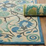 Sabine Rug Blue 2' x 3' - Ballard Designs