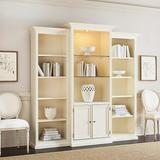 Tuscan 3-Piece Bookcase with Cabinet - Ballard Designs