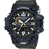 Men's Analog-digital Mudmaster Green Bracelet Watch 56x59mm Gwg1000-1a3 - Green - G-Shock Watches