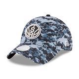 """Women's New Era Black/Gray San Antonio Spurs NBA City Series 9TWENTY Adjustable Hat"""