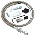 Spectre Performance 2431 Braided Throttle Cable, Chrome