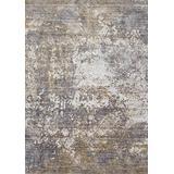 "Loloi PATIPJ-02GNSN Indoor Area Rugs, 1'-6"" X 1'-6"" Square, Granite/Stone"