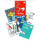Dr. Seuss Book Set (6) : The Cat in the Hat - Green Eggs and Ham - Are You My Mother - Sam and the Firefly - Abc - The Foot Book (Dr. Seuss Collection) by Dr. Seuss (2006-05-04)