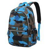 COTEetCI School Backpack for Boys Camouflage Student Bookbag Lightweight Kids Shoulder Daypack Travel Back Pack