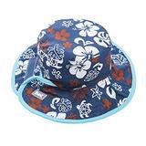 Baby BanZ UV Reversible Bucket Hat, Blue/Brown , 2-5 Years