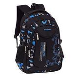 Fanci Flora Camo Prints Nylon Elementary Middle High School Backpack Bookbag for Teenage Boys Travel Rucksack Daypack