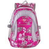 MAYZERO School Backpacks Waterproof School Bags Durable Travel Camping Backpacks for Boys and Girls (3 Rose)