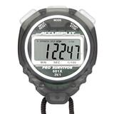 ACCUSPLIT Pro Survivor - A601XBK Stopwatch, Clock, Extra Large Display (Smoke)