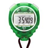 ACCUSPLIT Pro Survivor - A601X Stopwatch, Clock, Extra Large Display (Lime)