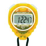 ACCUSPLIT Pro Survivor - A601X Stopwatch, Clock, Extra Large Display (Lemon)