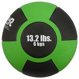 Champion Barbell Rubber Medicine Ball - 13.2 lb. - Green