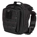 5.11 RUSH MOAB 6 Tactical Sling Pack Military Molle Backpack Bag, Style 56963, Black