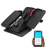 Cubii Pro Seated Under Desk Elliptical Machine for Home Workout, Pedal Bike Cycle Motion, Bluetooth sync Fitbit & Apple, Whisper Quiet, Compact Mini Exerciser w/Adjustable Resistance & LCD, Noir