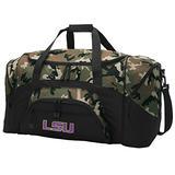 Broad Bay Large LSU Tigers Duffel Bag CAMO LSU Suitcase Duffle Luggage Gift Idea for Men Man Him!