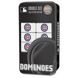MasterPieces MLB Chicago Cubs Double Six, Collector Edition, Dominoes Game