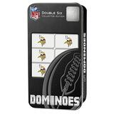 MasterPieces NFL Minnesota Vikings Collector Edition Double Six Dominoes