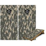 Cornhole Bag Toss Game Board Vinyl Wrap Skin Kit - WraptorCamo Digital Camo Combat (fits 24x48 Game Boards - Gameboards NOT Included)