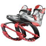 Joyfay Red Unisex Fitness Jump Shoes Bounce Shoes (Medium Child 12.5-2.5)