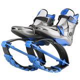 Joyfay Blue Unisex Fitness Jump Shoes Bounce Shoes (Medium Child 12.5-2.5)