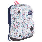 Jansport Austin Backpack - multi white floral haze, one size LIMIT EDITION