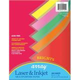 "Pacon Assorted Bright Bond Paper, 8.5""X11"", 500-Sheets (101105)"