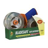 BladeSafe Tape Gun with HD Clear Packing Tape, 2 Rolls, 1.88 Inch x 109 Yard, Clear (926458)