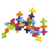 Edushape 829072 Kiddy Connects Set (72 Piece)