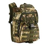 Matoger 40L Tactical Backpack Military Molle Assault Backpack Hunting Gear Rucksack Waterproof Bag (CP Camouflage)