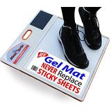 StepNGrip Courtside Shoe Grip Traction Mat - NEWEST Sticky Mat - Never Needs Replacement Sheets, Allows Court Grip for Basketball Volleyball. Sticky Stop Power